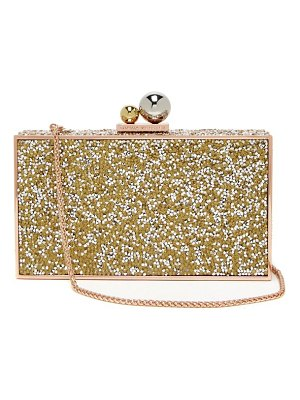 Sophia Webster clara crystal embellished box clutch