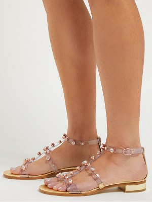 Sophia Webster dina crystal studded sandals