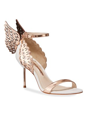 Sophia Webster Evangeline Wing Metallic Sandals