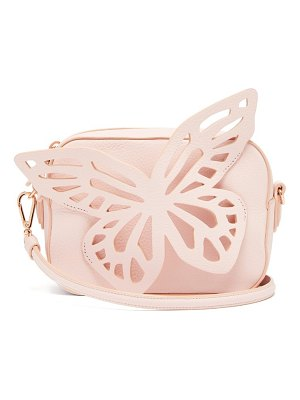 Sophia Webster flossy butterfly leather cross body camera bag