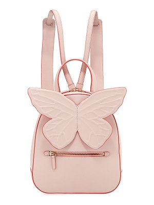 Sophia Webster Kiko Leather Butterfly Backpack