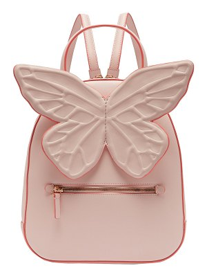 Sophia Webster Kito Butterfly Appliqued Leather Backpack