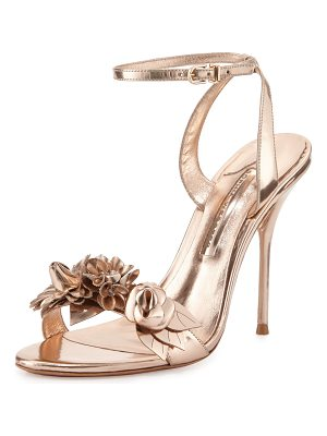 SOPHIA WEBSTER Lilico Floral Leather 105mm Sandal