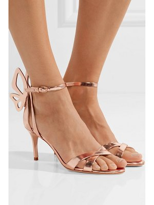 Sophia Webster madame chiara metallic leather sandals