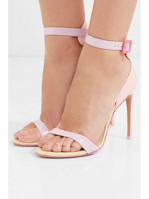 Sophia Webster nicole color-block patent-leather sandals
