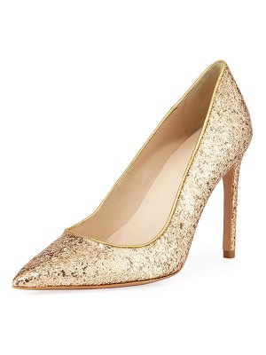 Sophia Webster Rio Coarse Glitter High-Heel Pumps