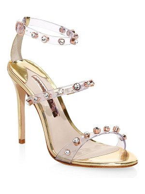 Sophia Webster rosalind gem leather slingback sandals