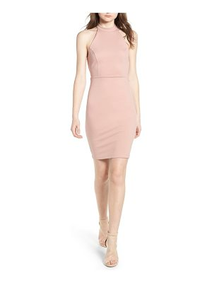 Soprano halter bodycon dress