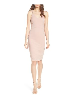 Soprano side cutout body-con dress