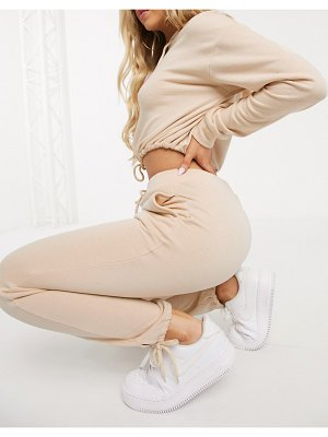 South Beach slim fit sweatpants in beige