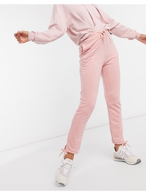 South Beach slim fit sweatpants in rose pink