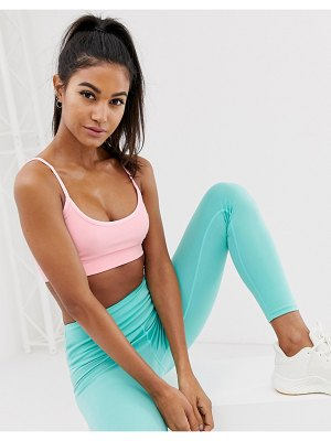 South Beach strappy seamless crop top