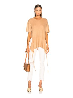SOYER Chloe Cashmere Tie Tee