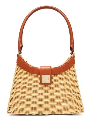 Sparrows Weave the city wicker and leather bag
