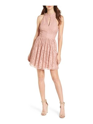 SPEECHLESS Gigi Lace Fit & Flare Dress