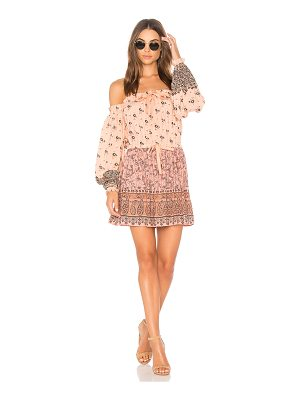 SPELL & THE GYPSY COLLECTIVE Lionheart Off The Shoulder Mini Dress