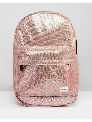 Spiral Glitter Bellini Glamour Backpack