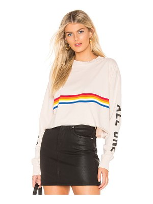 Spiritual Gangster All One Oversized Crop Tee