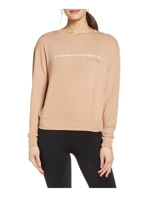 Spiritual Gangster happy savasana pullover