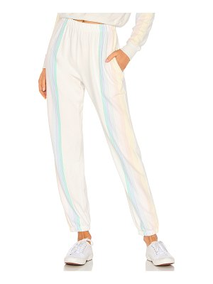 Spiritual Gangster stripe malibu nights sweatpant