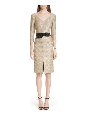 St. John glamour sequin knit dress