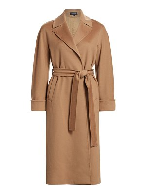 St. John wool trench coat