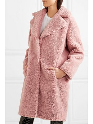 STAND camille faux shearling coat