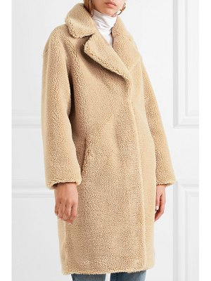 STAND camille oversized faux fur coat