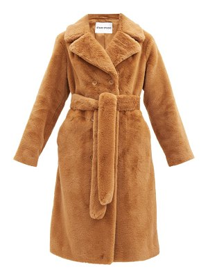 Stand Studio faustine faux-fur coat