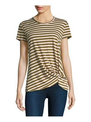 Stateside army stripe twist tee