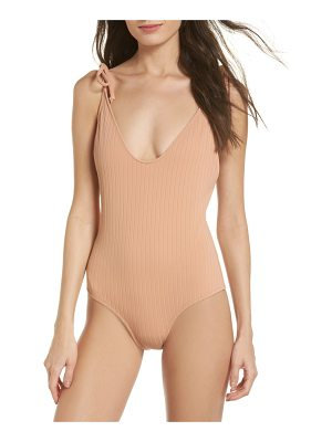 Static robertson one-piece swimsuit