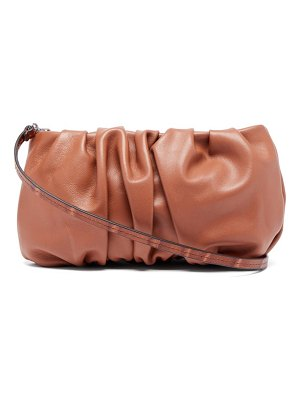 STAUD bean leather shoulder bag