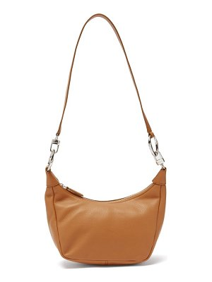 STAUD holt leather shoulder bag