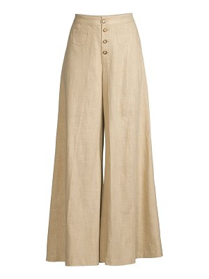 STAUD martin wide-leg trousers