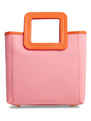 STAUD mini shirley nylon satchel
