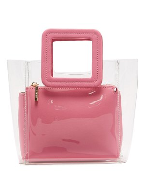 STAUD Mini Shirley Pvc And Leather Tote Bag