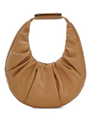 STAUD moon suede hobo bag