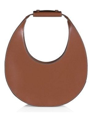 STAUD moon leather hobo bag