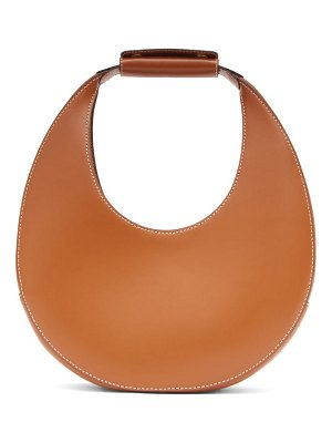 STAUD moon small leather shoulder bag