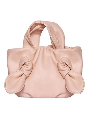 STAUD Ronnie leather top handle bag