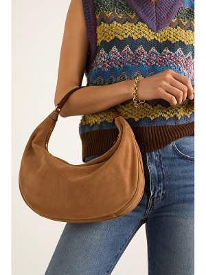 STAUD sasha small suede shoulder bag