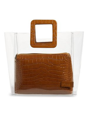 STAUD shirley transparent tote
