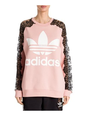 Stella McCartney adidas by  lace insert sweatshirt