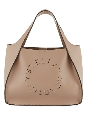 Stella McCartney Alter Napa Logo Crossbody Bag
