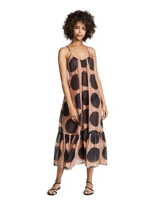 Stella McCartney ballet polka dot maxi dress