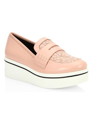Stella McCartney binx platform lace loafers
