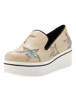 Stella McCartney Binx Stars Platform Loafers