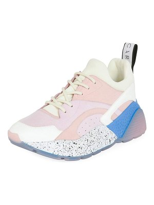 Stella McCartney Eclypse Colorblock Lace-Up Sneakers