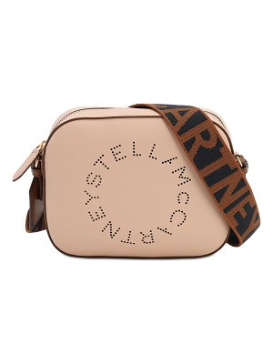 Stella McCartney Eco soft laser perforated camera bag