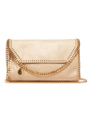 Stella McCartney falabella mini faux suede cross body bag